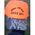 hunters Orange Nu-way Stove Hat